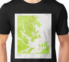 USGS TOPO Map Arizona AZ Red Mountain 313060 1973 24000 Unisex T-Shirt