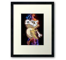 Cubone Spirit Framed Print