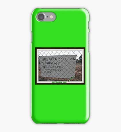 CULTURAL SIGN  iPhone Case/Skin