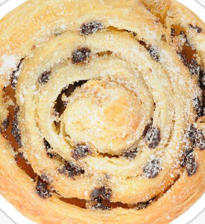 Sweet bun with raisins Sticker