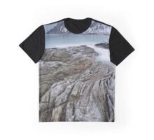 Flakstad Fjord Graphic T-Shirt
