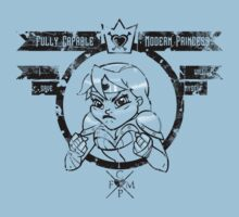 Capable Modern Princess - Decayed Kids Tee