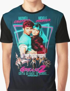 Neon 80's GREASE 2  Graphic T-Shirt