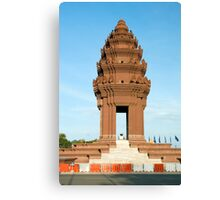 Independence Monument in Phnom Penh Canvas Print