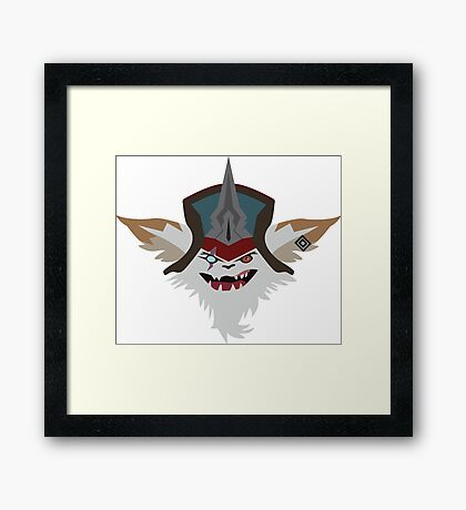 New champion Kled LoL Framed Print