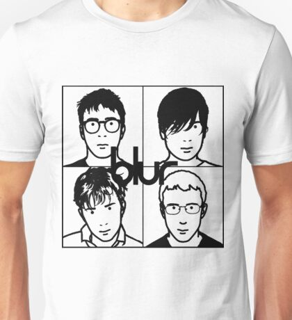Blur (Black) Unisex T-Shirt