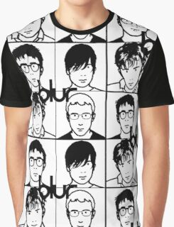 Blur (Black) Graphic T-Shirt