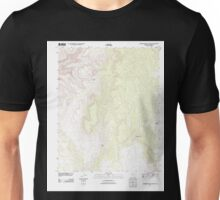 USGS TOPO Map Arizona AZ Robbers Roost Canyon 20111109 TM Unisex T-Shirt