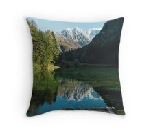 Serene Slovenia Throw Pillow