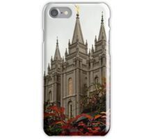 Salt Lake City Temple Angle iPhone Case/Skin