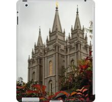 Salt Lake City Temple Angle iPad Case/Skin