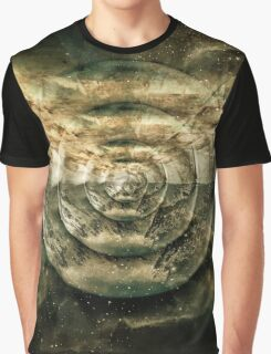 Planetary Soul Gold Depth Perception Graphic T-Shirt