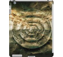Planetary Soul Gold Depth Perception iPad Case/Skin