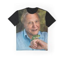 David Attenborough All Over Print T-Shirt Graphic T-Shirt