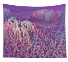 Pastel Landscape Wall Tapestry