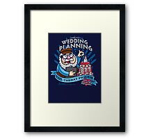 George's Wedding Planning Framed Print