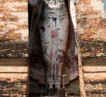 Buddha Monument in Sukhothai Sticker