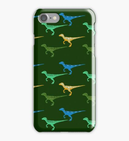 Raptors Everywhere iPhone Case/Skin