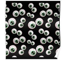 Monster Eyes, Halloween Gifts, t-shirts Poster
