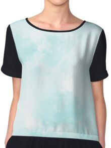 Sky and clouds Chiffon Top
