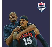 Usa Basketball Team Photographic Print