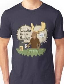 Cashier In The Headlights Unisex T-Shirt