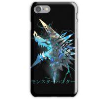 Monster Hunter - Zinogre  iPhone Case/Skin