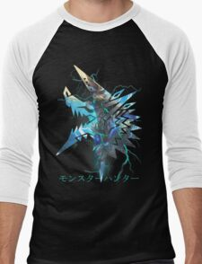 Monster Hunter - Zinogre  Men's Baseball ¾ T-Shirt