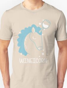 Wineicorn, funy, cool t-shirts Unisex T-Shirt