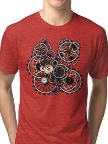 Steampunk Gears on your Gear No.2 Tri-blend T-Shirt