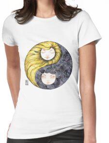 Yin Yang Daughters Sun/Rain Womens Fitted T-Shirt