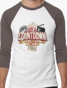 The Countdown Movie & TV Reviews Podcast Men's Baseball ¾ T-Shirt