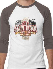 The Countdown Movie & TV Reviews Podcast Men's Baseball ¾ T-Shirt