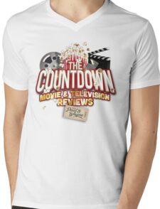 The Countdown Movie & TV Reviews Podcast Mens V-Neck T-Shirt