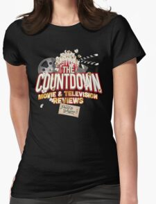 The Countdown Movie & TV Reviews Podcast Womens Fitted T-Shirt
