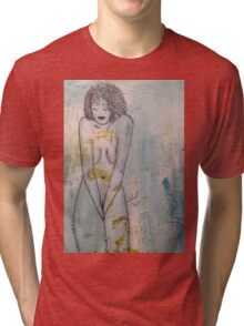 A Little SHY... not Ashamed Tri-blend T-Shirt
