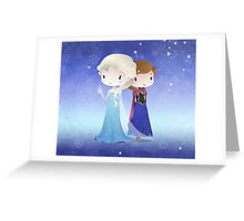 Iced Princesses Greeting Card