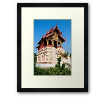 Ho Trai Scripture Library in Thailand Framed Print
