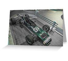 PRS Formula Ford Greeting Card