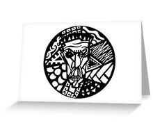Power face Greeting Card