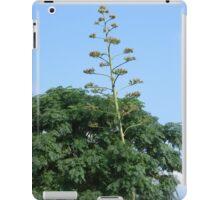 Heavy Bloom Stalk Leans on Tree iPad Case/Skin