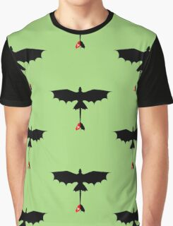 Toothless Silhouette Graphic T-Shirt