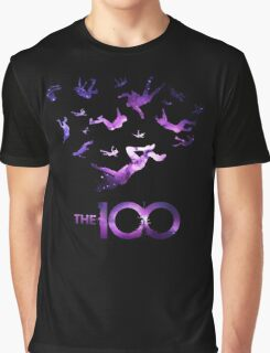-SERIES- The 100 Space Style Graphic T-Shirt