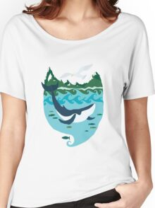Whale tale Women's Relaxed Fit T-Shirt