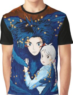 Howl's Moving Castle - Howl & Sophie Graphic T-Shirt
