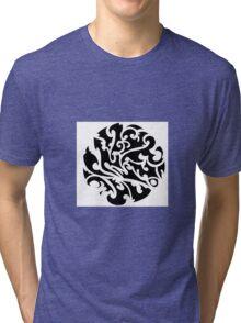 Tribal tattoo Tri-blend T-Shirt