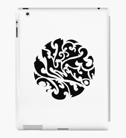 Tribal tattoo iPad Case/Skin