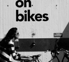 Bikes Sticker
