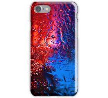 A wintry nightlife. iPhone Case/Skin