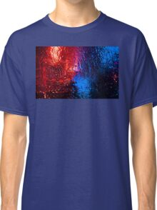A wintry nightlife. Classic T-Shirt